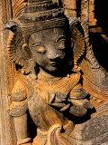 Stupa Details  Shwe Inn Thein  Indein  Inle Lake  Shan State  Bagan  Myanmar