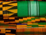 Kente Cloth  Artist Alliance Gallery  Accra  Ghana