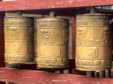 Religious Prayer Wheels  Ulaan Baatar  Mongolia