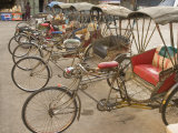 Bicycle Taxis  Khon Kaen  Thailand