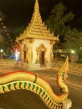 Buddhist Celebrating Buddha's Day, Visakha Bucha, Khon Kaen, Thailand Papier Photo par Gavriel Jecan