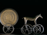Solar Disk with Chariot and Horse Replica  Bronze Age  Germany