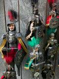 Knight Puppets  Corso Umberto 1  Taormina  Sicily  Italy