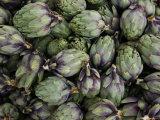 Artichokes  Produce Market  Ortygia Island  Syracuse  Sicily  Italy