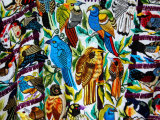 Textiles For Sale at Visitor's Center  Tikal National Park  Petan Jungle  Guatemala