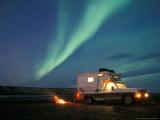 Northern Lights  North Slope of Brooks Range  USA