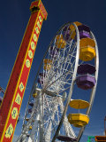 Pacific Park Ferris Wheel  Santa Monica Pier  Los Angeles  California  USA