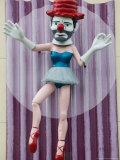 Ballerina Clown  Venice  Los Angeles  California  USA