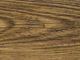 Close-up of a Lined and Rough Wooden Board