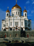 Christ the Saviour Cathedral  Moscow  Russia