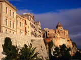 Cathedral from Bastione San Remy  Cagliari  Italy
