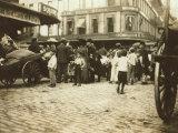 Market Scene  Boston  Massachusetts  c1909