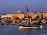 Traditional Fishing Boat at Porto Calasetta  Sant' Antioco  Sardinia  Italy