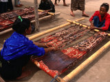 Ikat Weaving at Watumbakala Village  Indonesia