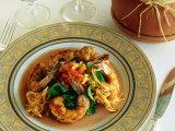 Seafood Meal at Phoenician Resort  Scottsdale  Arizona  USA