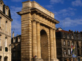 Classical Gate to City  Bordeaux  France