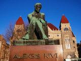 Alexis Kivi Monument  Helsinki  Finland