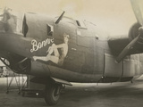 Nose Art on a B24 Liberator  c1945