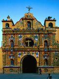 Church of San Andres Xecul Totonicapan  Guatemala