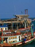 Fishing Boat Hua Hin  Prachuap Khiri Khan  Thailand