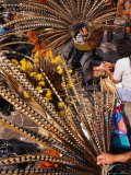 Traditional Headdress Used in Native Dance Outside the Basilica De Guadalupe  Mexico City  Mexico