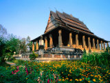 Haw Pha Kaew (Hall of the Jewel Buddha Image)  Vientiane  Vientiane Prefecture  Laos