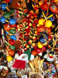 Handicrafts on Sale in Olvera Street  Los Angeles  USA