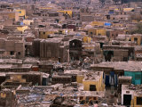 Bab An-Nasr Cemetery with Houses Scattered Amongst the Graves  Cairo  Egypt