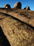 Rock Face and Boulders  Matobo National Park  Matabeleland South  Zimbabwe