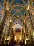 Interior of St Lorenzo Cathedral  Alba  Italy