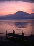 Mt Eniwa and Lake Shikotsu-Ko at Sunset  Shikotsu-Toya National Park  Japan