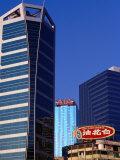 Old and New Buildings at Causeway Bay  Hong Kong  China
