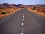 Silver City Highway Near Broken Hill  New South Wales  Australia
