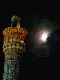 Minarets of Masjed-E Emam in Emam Khomeini Square  Esfahan  Iran