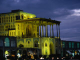 Ali Ghapu Palace on Emam-E Khomeini Square  Esfahan  Iran