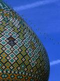 Tiled Dome of Emamzade-Ye Shiraz  Fars  Iran