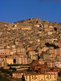Townscape on Monte Marone  Gangi  Italy