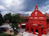Exterior Christ Church  Melaka  Malaysia