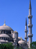 Minarets and Domes of Blue Mosque (1609-19)  Istanbul  Turkey