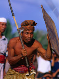Traditional Sport of Stick-Fighting in Kuripan  Indonesia