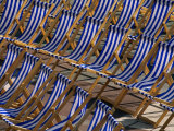 Seats in Front of the Bandstand at Eastbourne  Eastbourne  East Sussex  England
