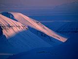 Valley of Reindalen  Spitsbergen Island  Svalbard