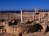 The Forum of Sabratha  an Nuqat Al Khams  Libya