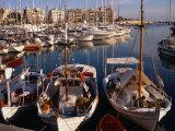 Boats in Piraeus Marina  Athens  Greece