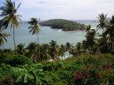 Ile Du Diabla (Devils Island) from Ile Royale in Iles Du Salut Group  French Guiana