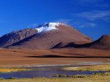 Altiplano Scenery Above the San Pedro De Atacama  San Pedro De Atacama  Chile