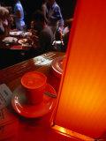 Caffe Latte from Melbourne's Caffe Cortile in the Block Arcade  Melbourne  Victoria  Australia