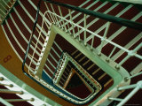 Looking Down the Stairwell of the SS Shanghai  China