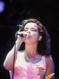 Bjork Icelandic Pop Singer at Glastonbury  1994