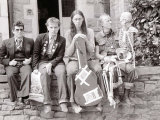 The Young Ones in Bristol  Rik Mayall  Chris Ryan  Nigel Planer  Ade Edmondson  April 1982